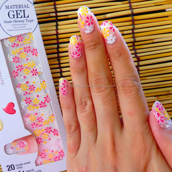 Easy to use waterproof Nail gel decorations for salon use , OEM also available