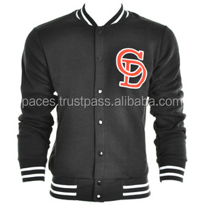OEM college style wool varsity baseball jacket/Cotton fabric varsity jackets/varsity jackets from active safety