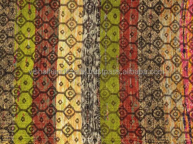Vishal Handicraft-73x39  Indischen Design Woven FringeThrow ...