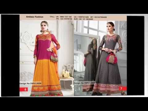 Anarkali Suits, Long Frock Style Asian Suits - Andaaz Fashion