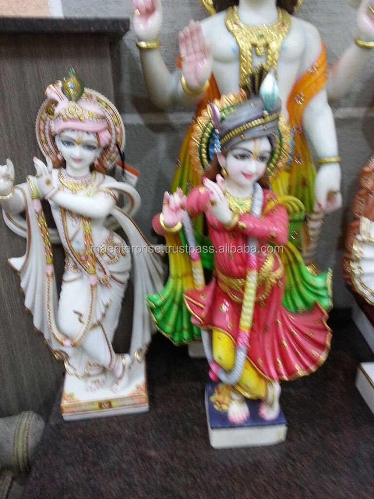krishna statues for sale of marble