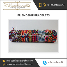 Woven Friendship Bracelet Personalised Friendship Bracelets Rainbow Friendship Bracelets