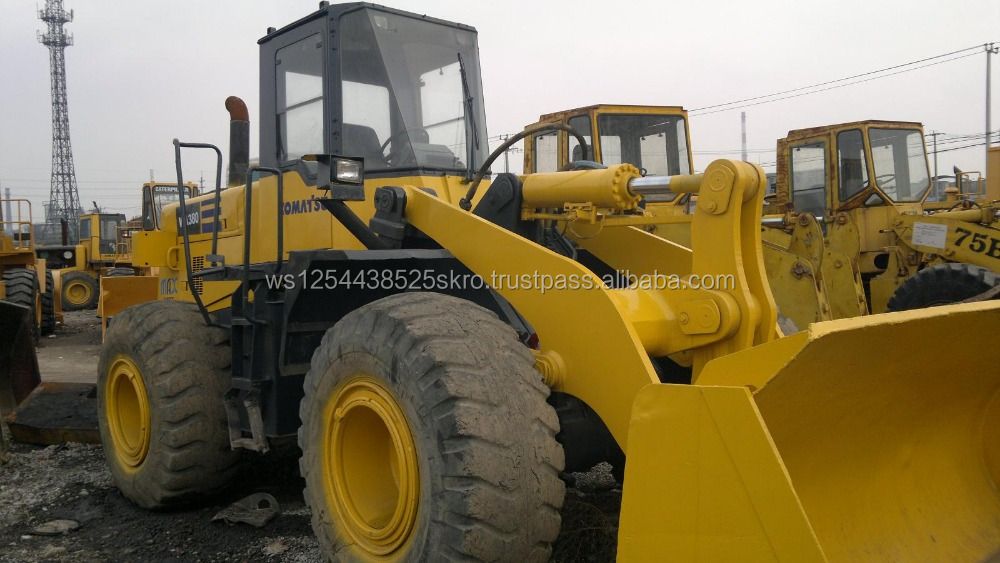 Japan made Used Komatsu WA380 Wheel Loaders for sale/price can be discussed