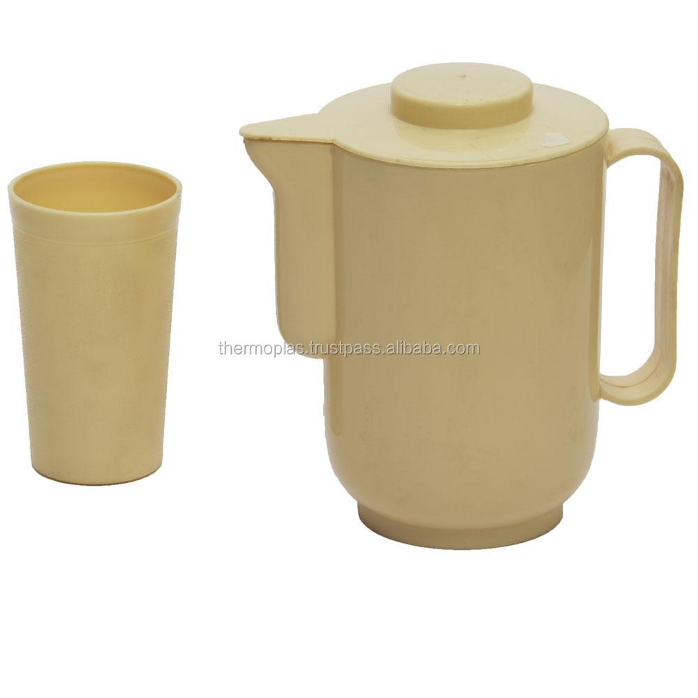 cruche d 39 eau en plastique avec tasses pichet d 39 eau id de produit 50027325887. Black Bedroom Furniture Sets. Home Design Ideas