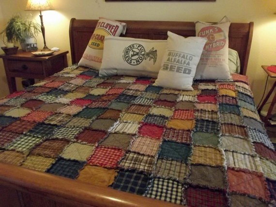 Unique design and indian wholesale price quilt new 2016 stone washed linen quilt