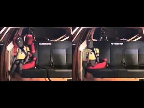 Booster seat vs booster cushion crash test