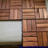 Floor Tile Cheap Price for Outdoor Furniture, 12slats from NK Vietnam