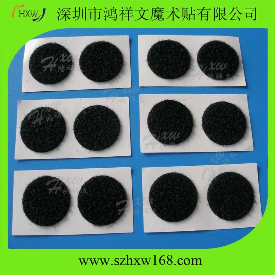 Reclosable Adhesive Type Fastener Hook and Loop Shape Dots