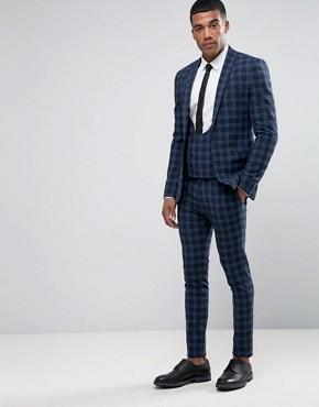 2107 New Style Bespoke Slim Fit Designer 3 Piece Coat Pant Men