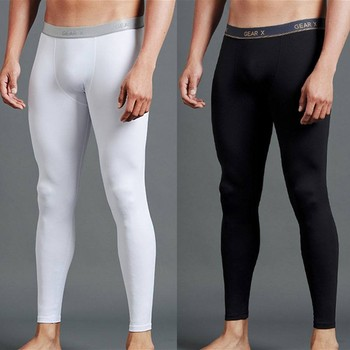 Running wear Skins Compression tight Compression pants long Men Compression  tights clothes e2f028cc6397