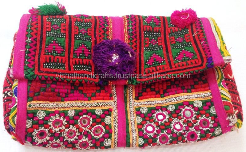 Exclusive Valentines Vintage Banjara Clutch Handmade Boho Bag ...