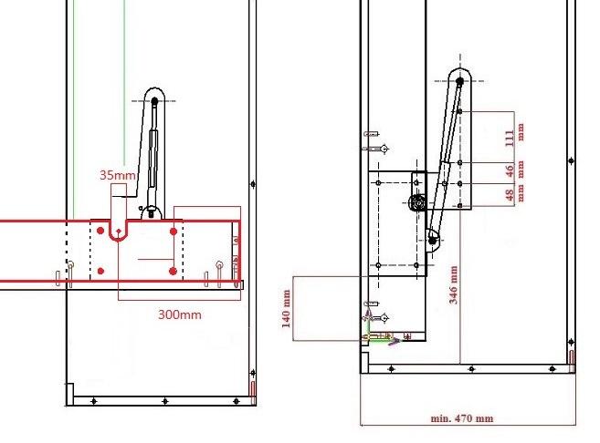 Side Mount Murphy Bed Plans