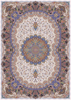 Persian Machine Made Carpet 1000 Reeds Iran Buy