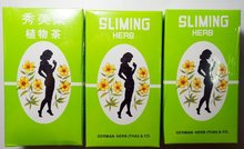 FREE SHIPPING..(3 Packs) Best Seller..50 Tea Bags Slimming German Herb Sliming Tea Lose Weight Burn Diet Slim Fit Fast