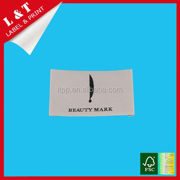 Custom good quality security label private label cosmetics price label
