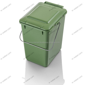 litter kitchen bin 10 litre pre sorting plastic containers kitchen caddy - Kitchen Caddy
