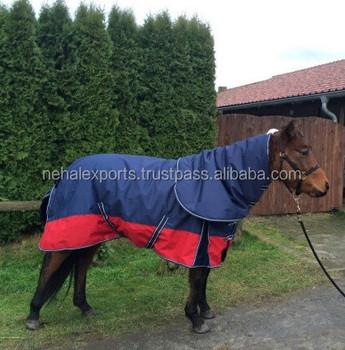 Rain Sheet Hooded Combo Horse Rug R