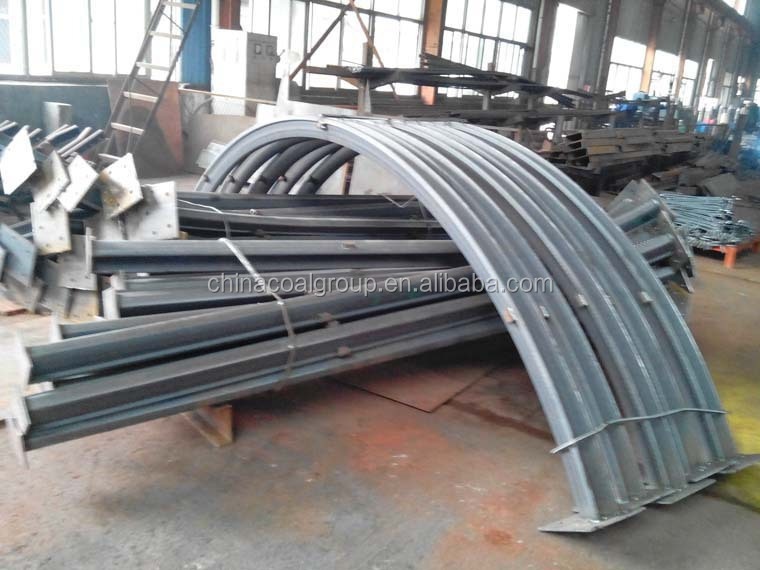 China Coal Mining Ore U Steel Beam Arch For Tunnel Support