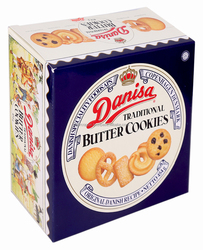 DANISA TRADITIONAL BUTTER COOKIES BOX 454G