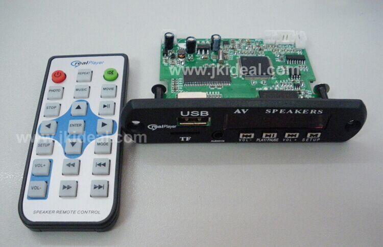 JK0061 new speaker module usb sd car audio mp3 amplifier pcb module