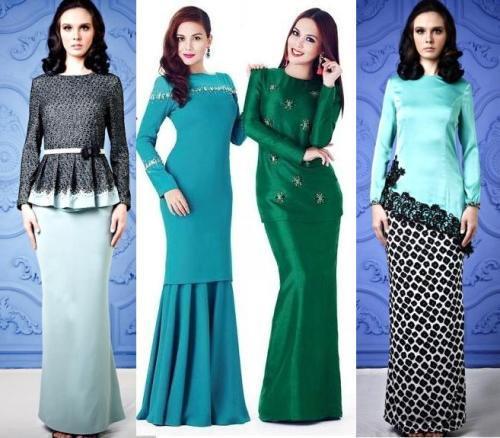 Fashion Baju Kurung Modern 2017