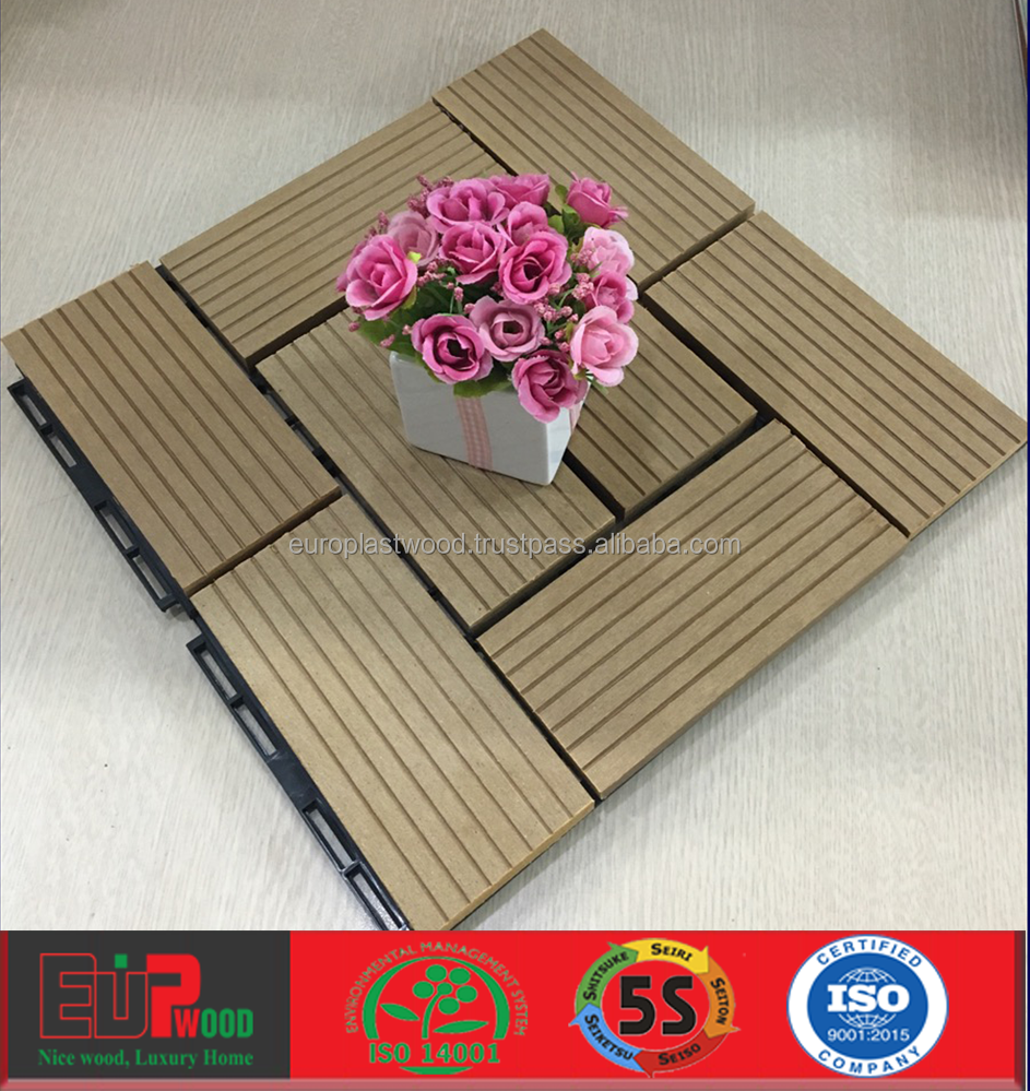 Eco-friendly WPC decking tile