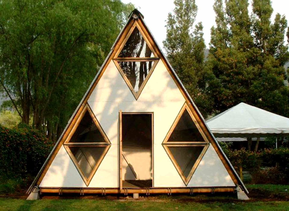 prefabricated bamboo cottages