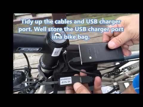 SunUp MaxiDyn bicycle USB charger dynamo