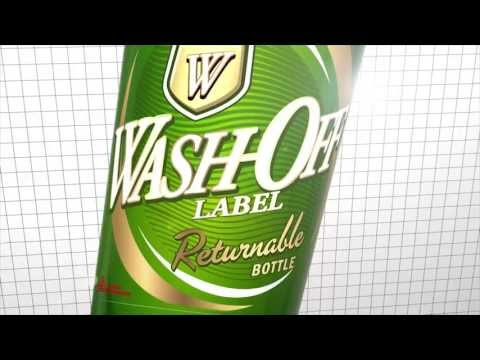 Avery Dennison Wash off Label