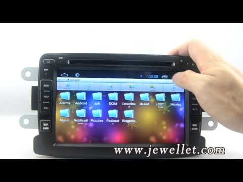 Android 4.4 Car DVD GPS Navigation for Renault Duster Dacia Duster Logan Sandero