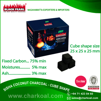 Hot Sale Nargile Charcoal According To Msds