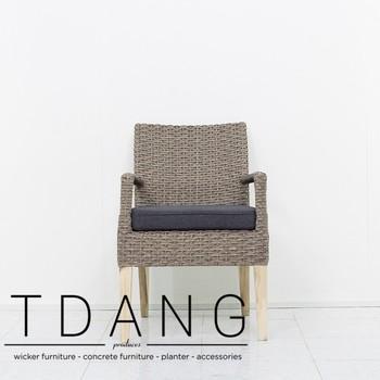 Capella Weidenesszimmerstuhl Gartenmöbel Vietnam Polyrattan Stuhl