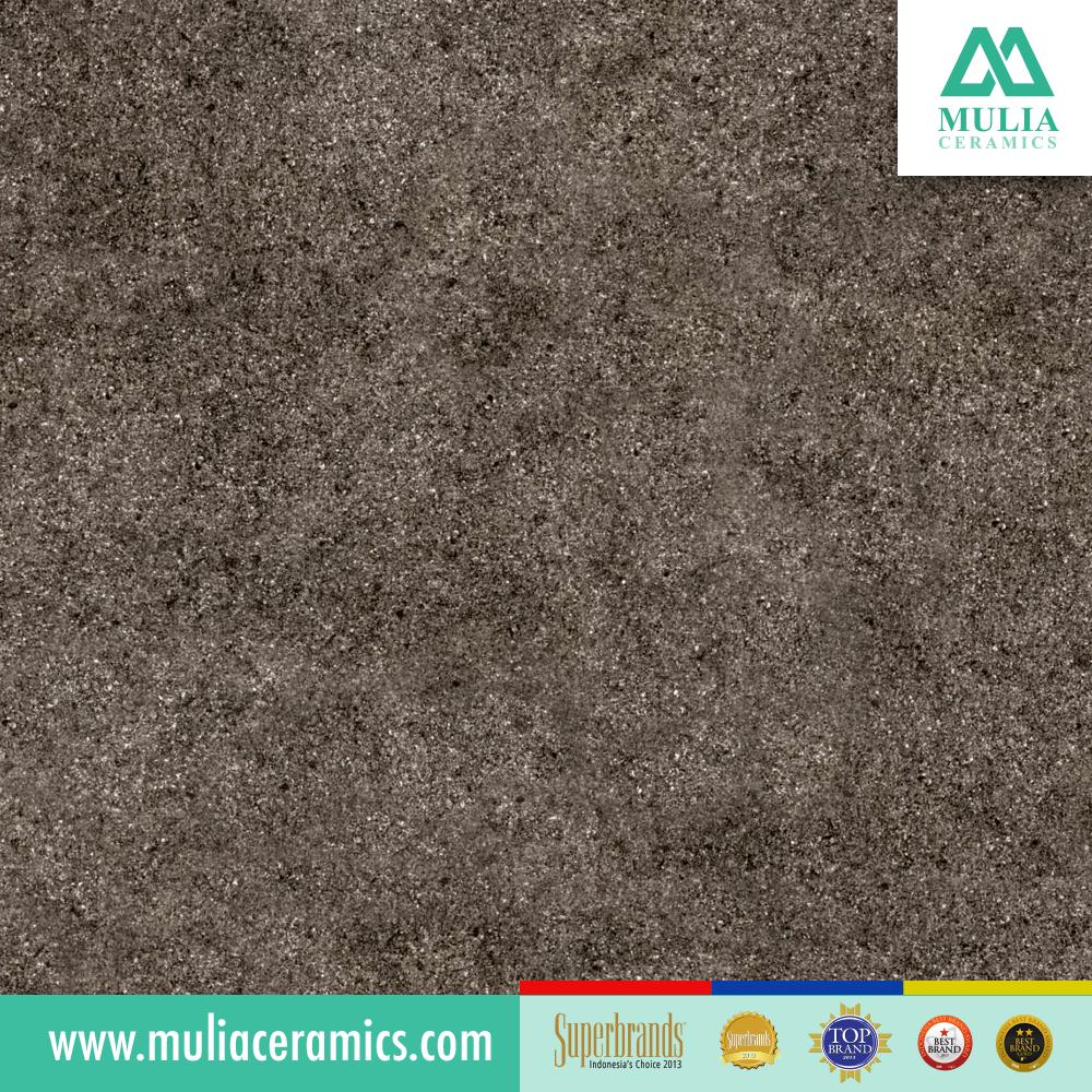 Rustic Tile Stone Everest Series Gray Color Size 40x40 Cm Suitable