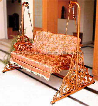 Indoor Outdoor Patio Swing Chair Cast Iron Jhula