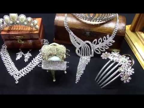 Crowns tiaras and diadems hairstyle jewelry fashion clips loops holders diamond rhinestone jewels