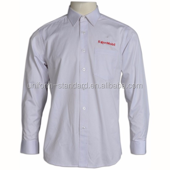 Button man shirt slim fit Custom Design