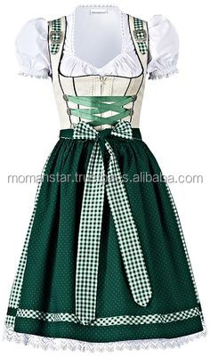 Custom Mini Dirndl with blouse & apron / Trachten Dirndl Dress / Traditional Bavarian Dirndl (trachten dirndl)