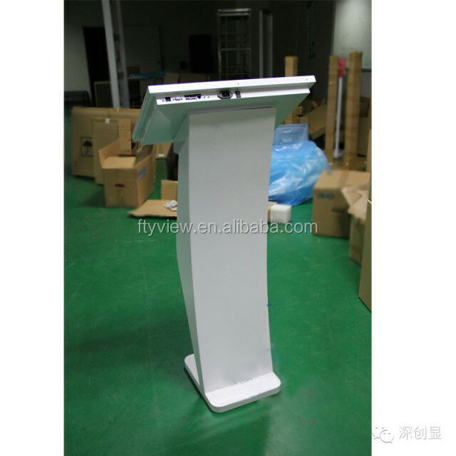 22 inch touch all in one PC digital signage player touch screen