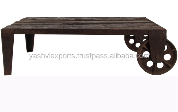Antique Coffee Table With Wheels, Antique Coffee Table With Wheels  Suppliers And Manufacturers At Alibaba.com
