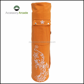 Hot selling on factory price high quality goods colorful yoga mat bag