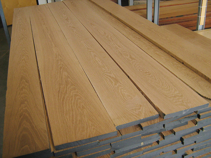 White Oak S4S Lumber, Oak Flat Stock, and Oak Boards