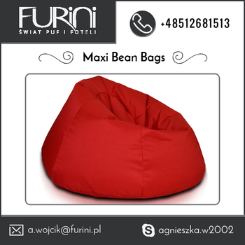 Eco Friendly Best Leather Material Made Maxi Bean Bags Available For Bulk