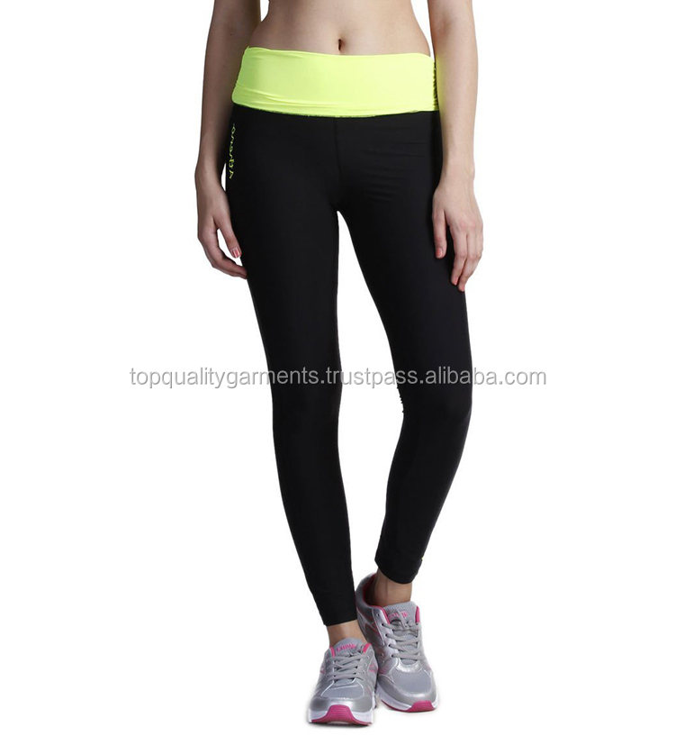 c1971e16695f3 New Fitness Thick Leggings Custom Women Ladies Girls Fashion Slim Workout  Tights Compression Wholesale OEM 2019 Hot Sale Cool