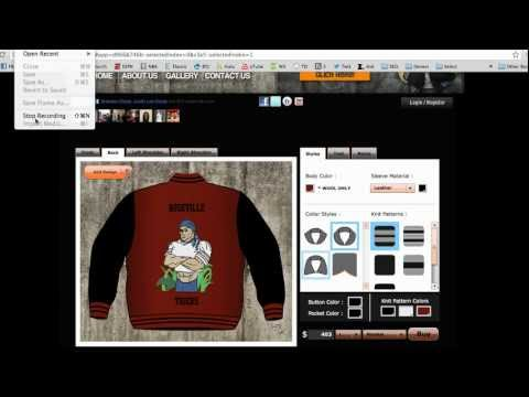 Custom Varsity Jackets - How to Customize Varsity Jackets