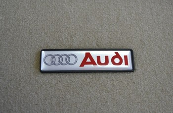 Audi Emblem Floor Mat Badge Car Logo Plate Buy Floor Mats Logo - Audi car emblem