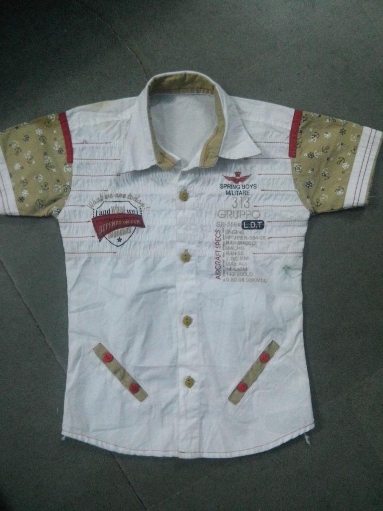 indian designer cotton wear boys shirt buy 2016 shirt