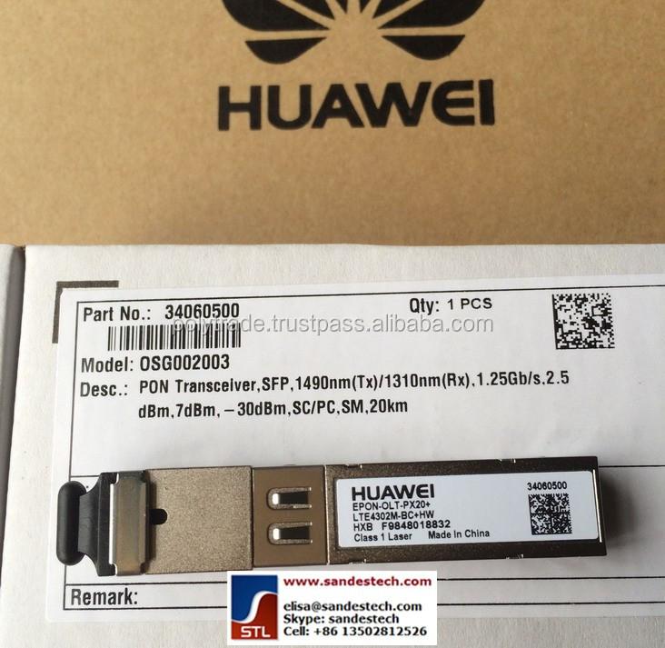 Huawei Epon-olt-px20+ 34060500 Osg002003 Lte4302m-bc+hw ...