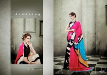 Double Color Designer Sarees for Women