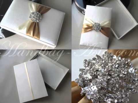 Get Quotations Silk Invitation Box