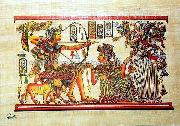 Egyptian Papyrus Paintings,Genuine Papyrus Paper - Buy ...